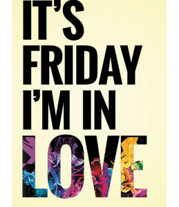 The Cure - 'It's Friday I'm In Love'